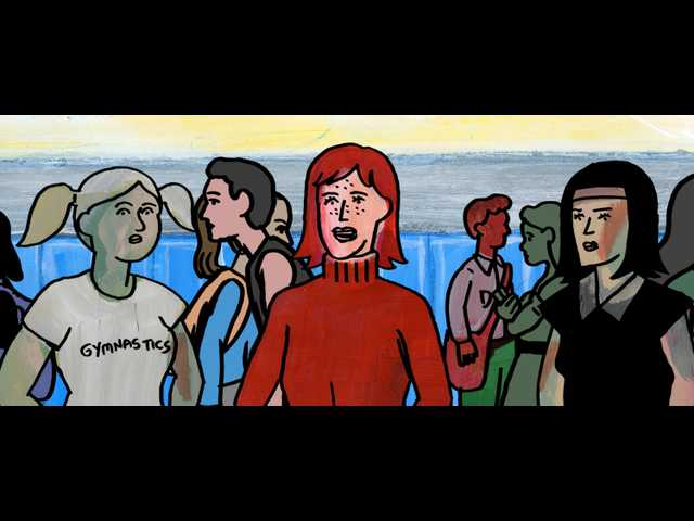 'My Entire High School Sinking into the Sea's' creative animation can't mask its weak story