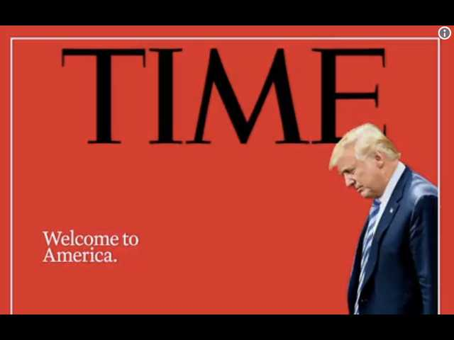 The new Time magazine cover slams Donald Trump over family separation policy