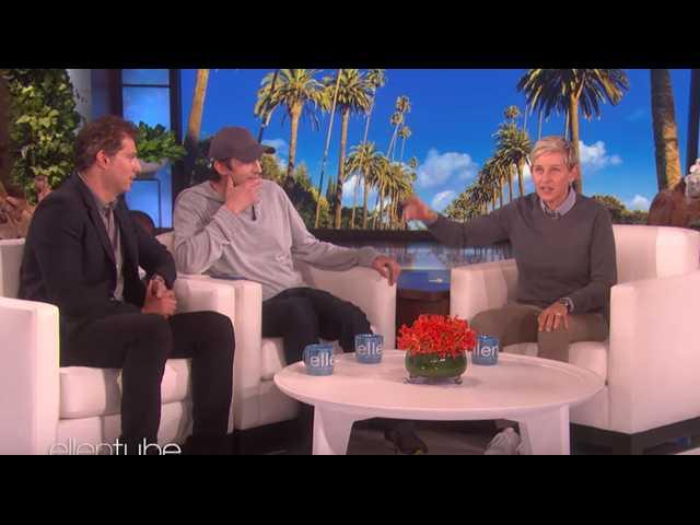 Ashton Kutcher donates $4 million to Ellen DeGeneres