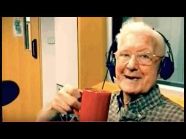 Lonely 95-year-old calls into radio station, becomes star of show