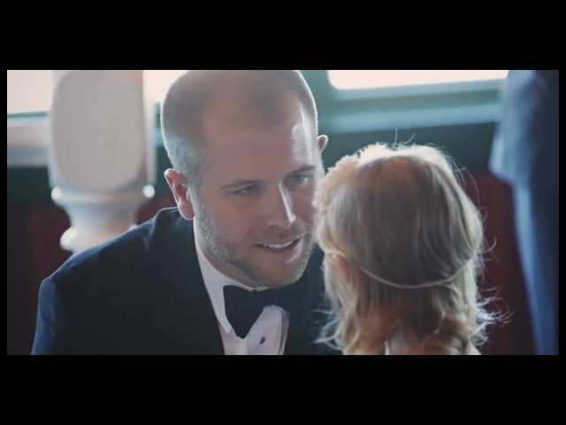 The Clean Cut: Groom makes vows not only to new bride but to new stepdaughter
