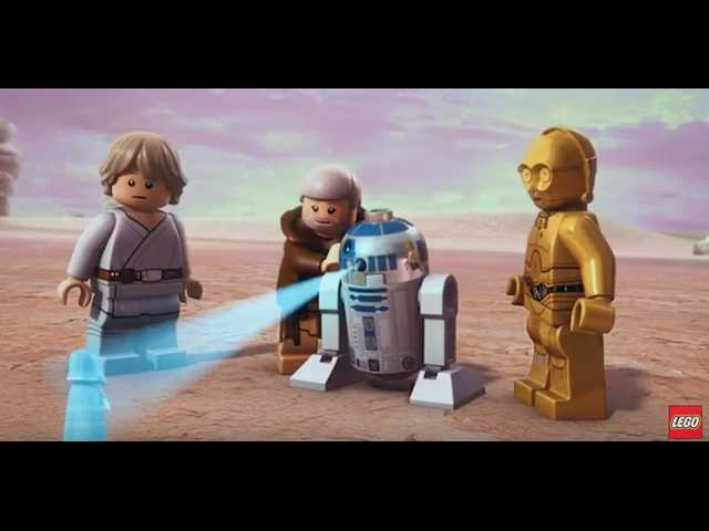 The Clean Cut: Lego celebrates 40 years of Star Wars with tribute to  'A New Hope'