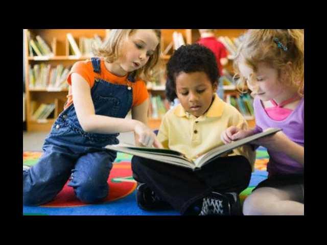 Children's programs at the library in November