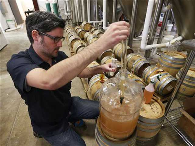 Virginia brewery taps beer recipe older than United States