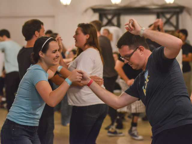 The traveling swing dancers of the Southeast