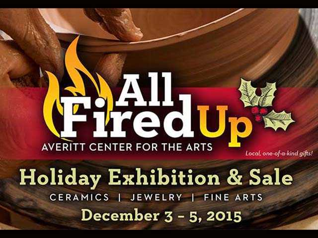 Get 'All Fired Up'  at annual ceramics sale