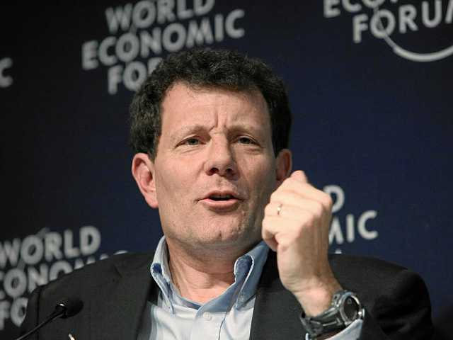 Nicholas Kristof to present on philanthropy, global citizenship