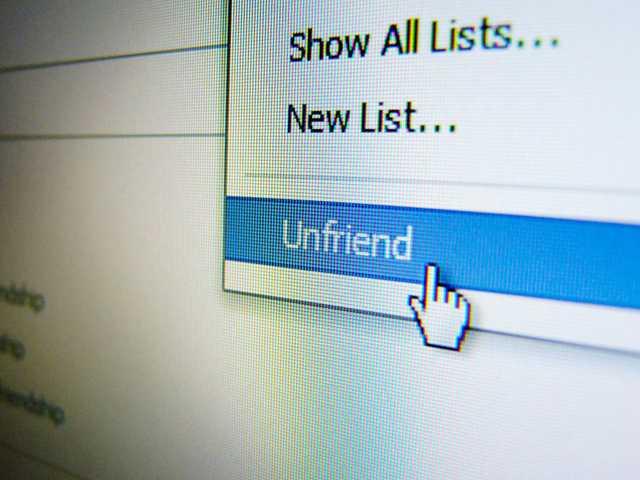 Unfriended?