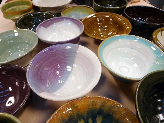 Empty Bowl sale to help the hungry