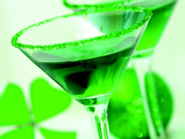 The liquid luck o' the Irish