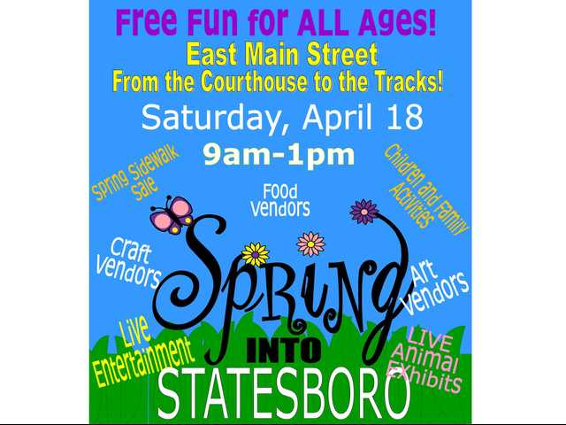 Spring into Statesboro promotes going green