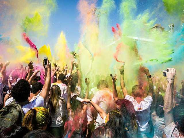 GSU celebrates Holi, the Festival of Colors, today