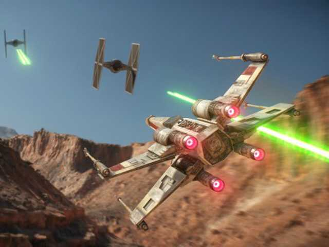 The Force looks strong in new Star Wars game