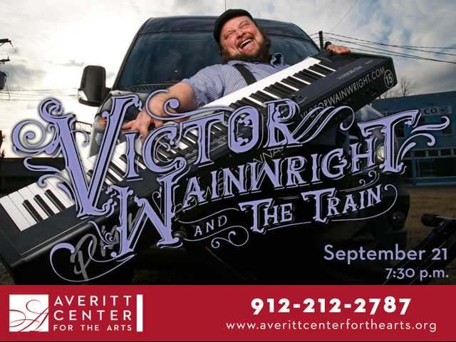 Victor Wainwright and The Train roll into the Boro Sept. 21