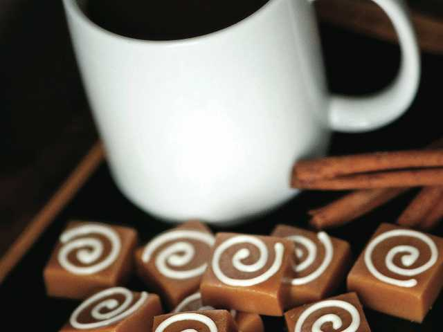 Serve up some Cinnamon Roll Caramels