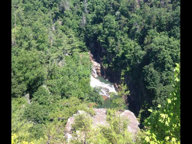 Seeking wilderness  at Tallulah Gorge