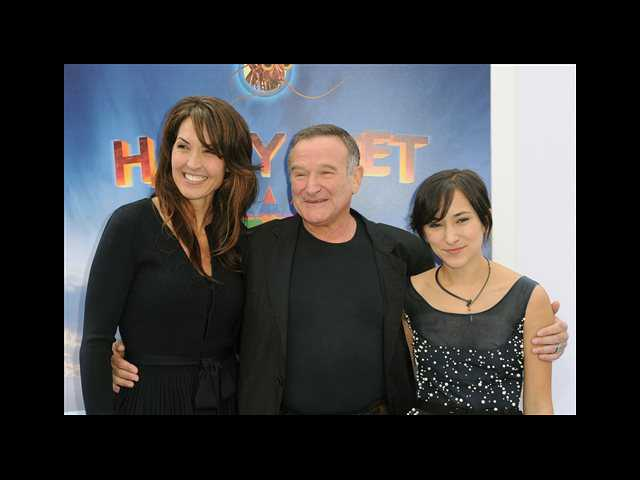 Robin Williams' wife, children fight over his estate