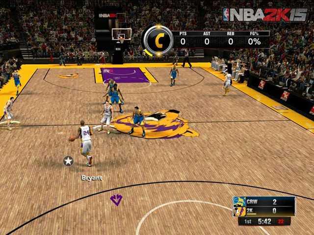 'NBA 2K15': Buggy, but still better