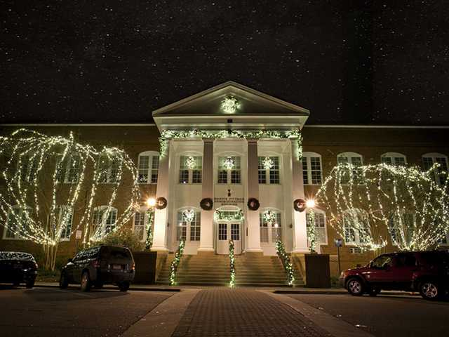 It's looking a lot like Christmas in the Boro