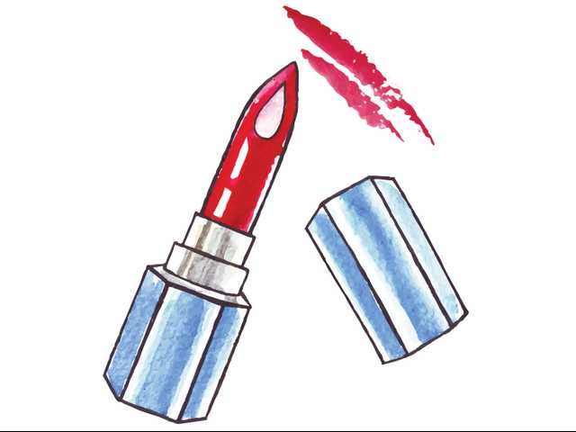 Connect Crime: Lipstick graffiti
