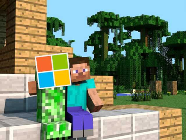 Microsoft buys Minecraft developer