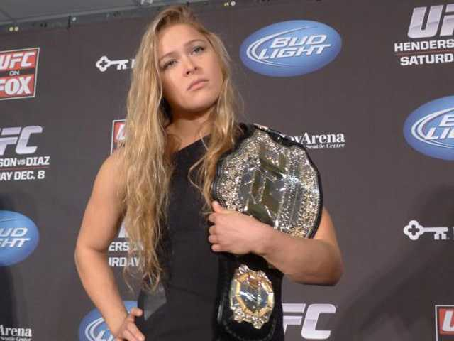 Rousey faces tough challenge with Zingano