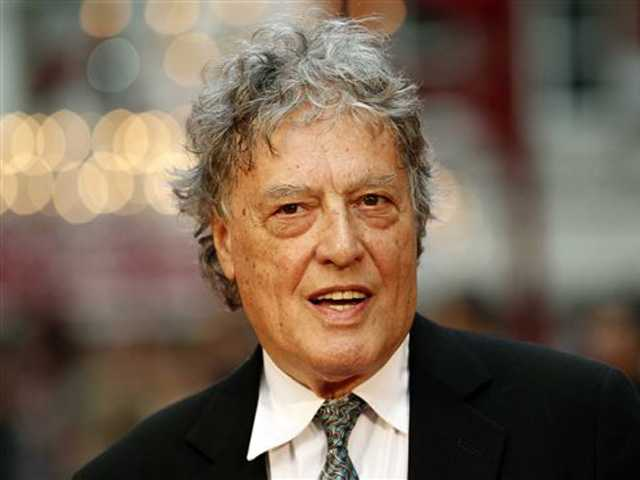 "Stoppard: A ""frightening time"" for free speech"