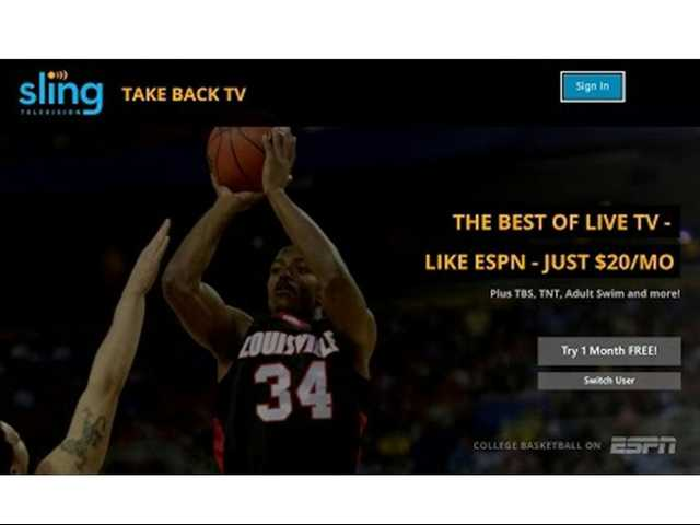 Sling TV offers the savvy gamer an alternative to cable services