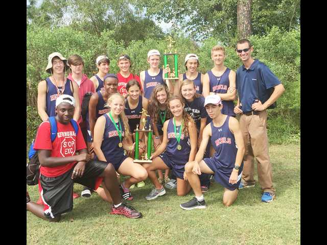 Rebels runners sweep first place in Statesboro