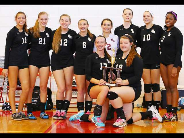 SEHS takes second at area volleyball