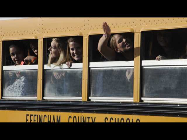 Big sendoff for ECHS softball team