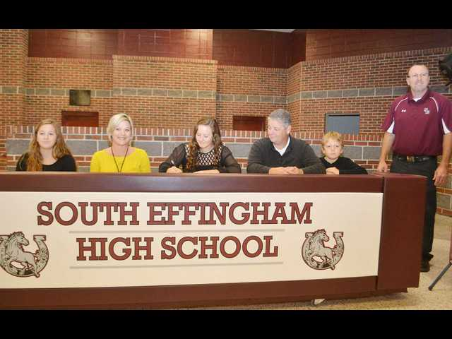 Conaway in a class of her own as SEHS senior softball signee