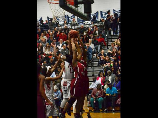 Lady Rebels charge past Lady Mustangs