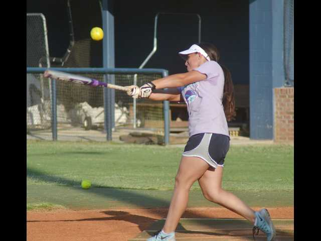 Lady Rebels go to bat for one of their own