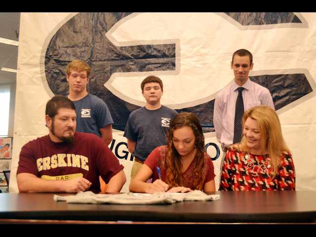 Running taking ECHS' Walsh to college