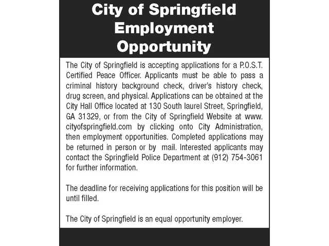 City of Springfield 030817