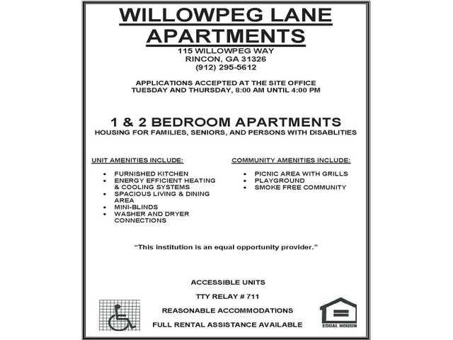 Wilowpeg Lane Apts 011718