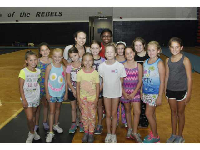 Little Rebels cheer camp