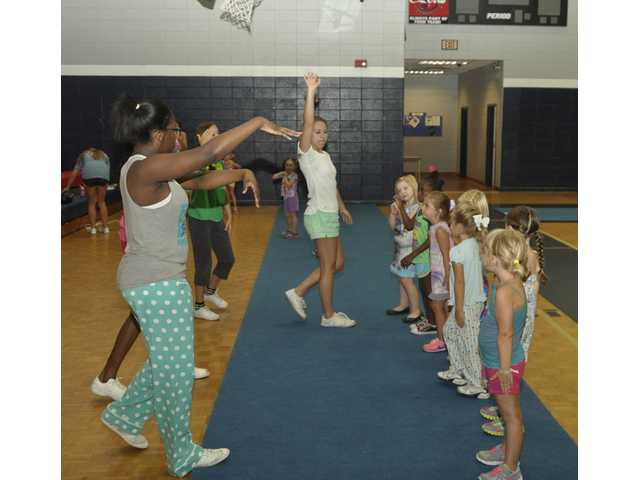Effingham County High School's gym was full of aspiring cheerleaders last week.