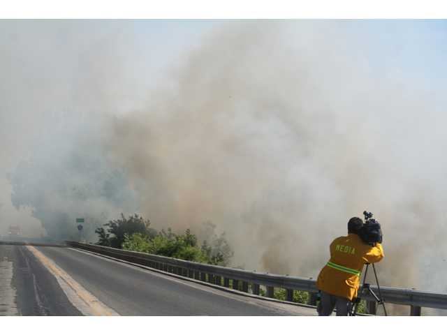 Multiple Agencies Respond To Wildfire
