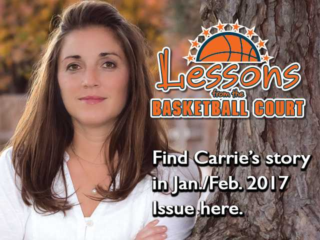 """Carrie Minton is a high school physical education and business teacher, but her true passion is coaching basketball. Her love of sports is life-long. Her love of basketball in particular makes her an ideal person to help develop a love of the sport and sportsmanship in girls at Great Bend High School. For the past five years, that's just what Carrie has been doing.  But the story of how she got there starts all the way back before high school, when she and her siblings, Ryan Koehler and Gerrie Meyer, were growing up.  """"I've spent the majority of my life, as far back as I can remember, playing sports,"""" she said."""