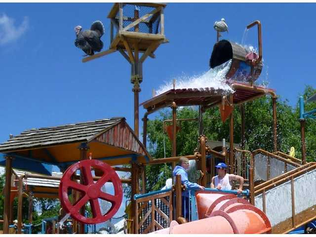 The Wetlands water park at Great Bend opened Saturday.