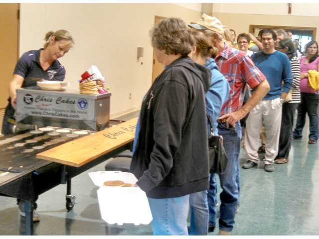 Last year's Sunflower Diversified pancake dinner drew a crowd for the popular event. This year's fundraiser is scheduled for Sept. 17.