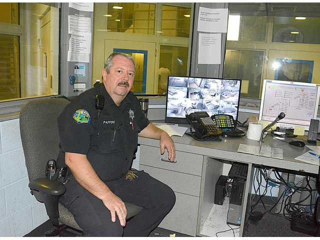 Cyril Pafford serves local law enforcement as a Barton County detention deputy.