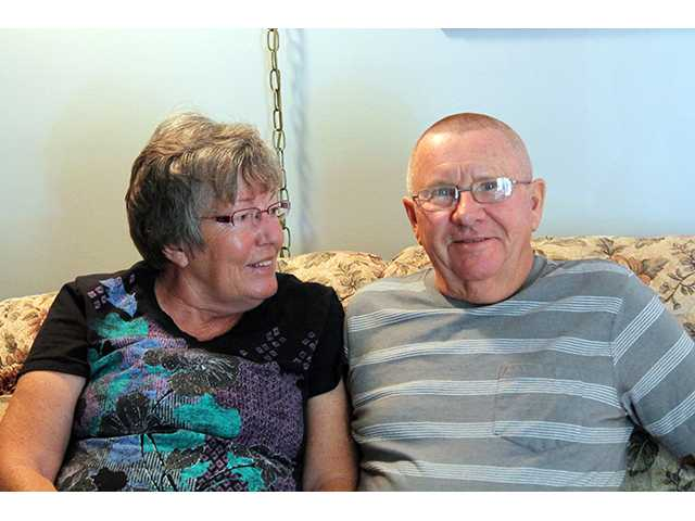 Now retired, Gerald Kenyon and his wife, Judy, Great Bend,  are pleased with the help they received from the Veterans Administration in correcting his military discharge records to reflect his service at the beginning of the Vietnam War.