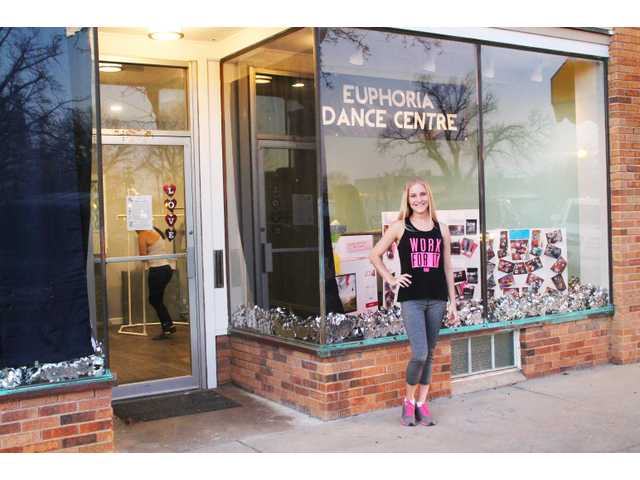 Lindsey Homeier recently opened the doors to Euphoria Dance Centre's new home. Two years earlier, the dance instructor learned her studio would have to move following the posting of an emergency order to vacate the building which the City of Great Bend condemned.