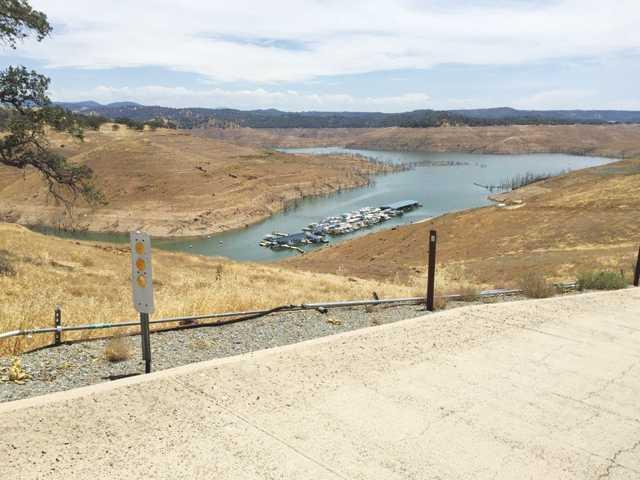 New Melones Reservoir dips below 400,000 acre feet