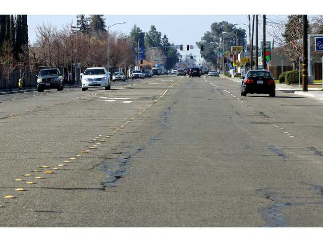 Pavement on Yosemite Avenue from Cottage Avenue to Main Street will be removed and replaced as part of a $3.3 million upgrade involving a mile of Yosemite Avenue and a mile of Main Street.