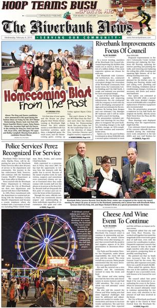 Riverbank newspaper