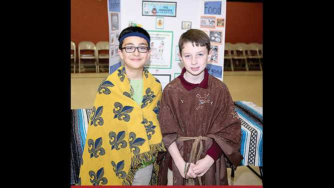 Native American museum at Peachtree Academy